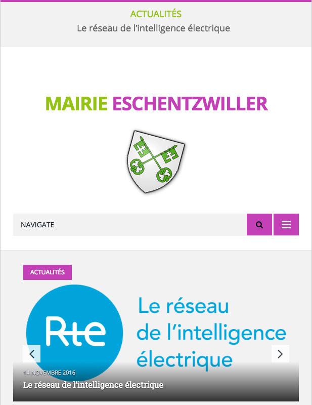 site web mairie municipalité agence web alsace mulhouse